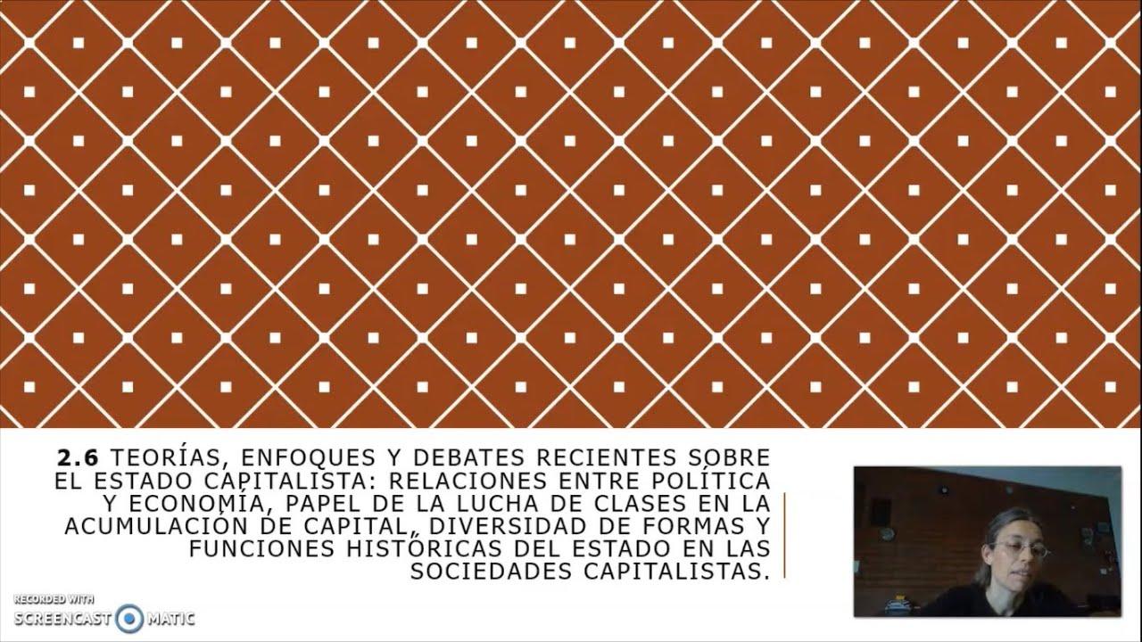 FADECS/Lic. Sociología/Sociología Política I/Prof. Giaretto/Teórico N° 9