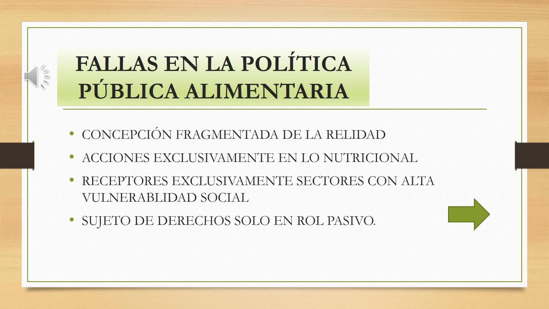 Políticas Alimentarias Argentinas (U 3)
