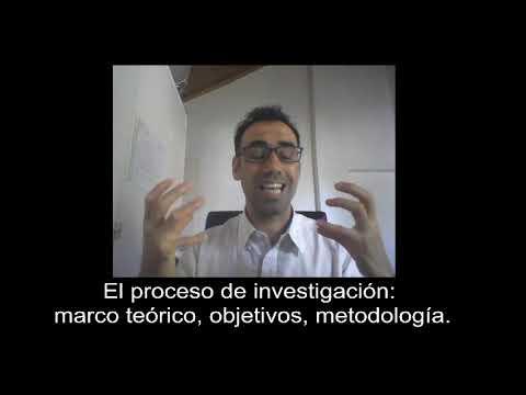 El proceso de investigacin: marco terico, objetivos, metodologa #4
