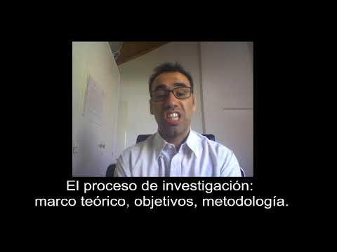 El proceso de investigacin: marco terico, objetivos, metodologa #1