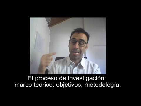 El proceso de investigacin: marco terico, objetivos, metodologa #5