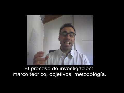 El proceso de investigacin: marco terico, objetivos, metodologa #2