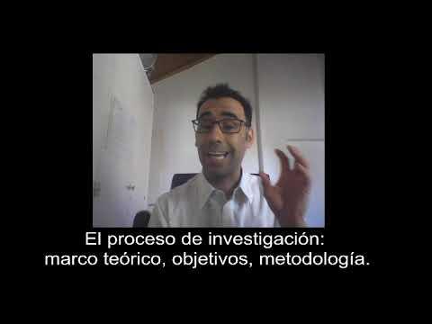 El proceso de investigacin: marco terico, objetivos, metodologa #3