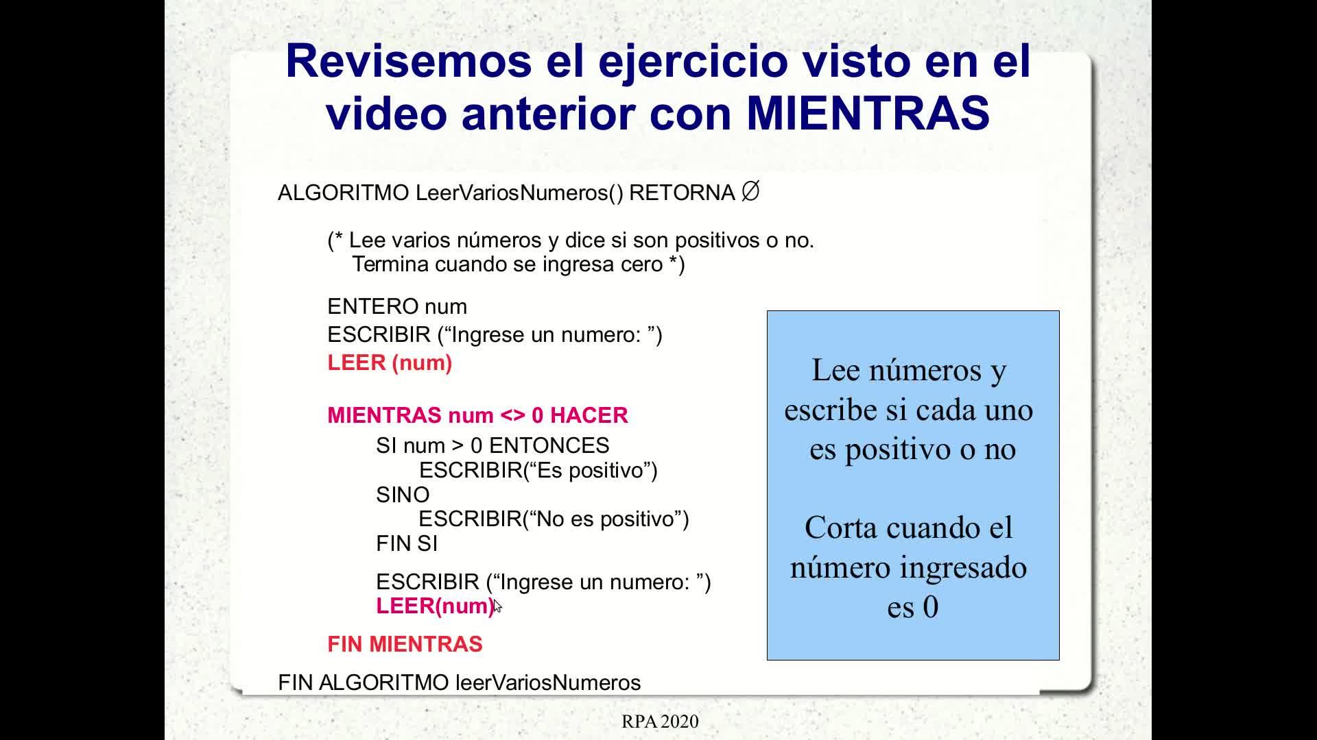 RPA - Video 3.4: Repetitiva HASTA