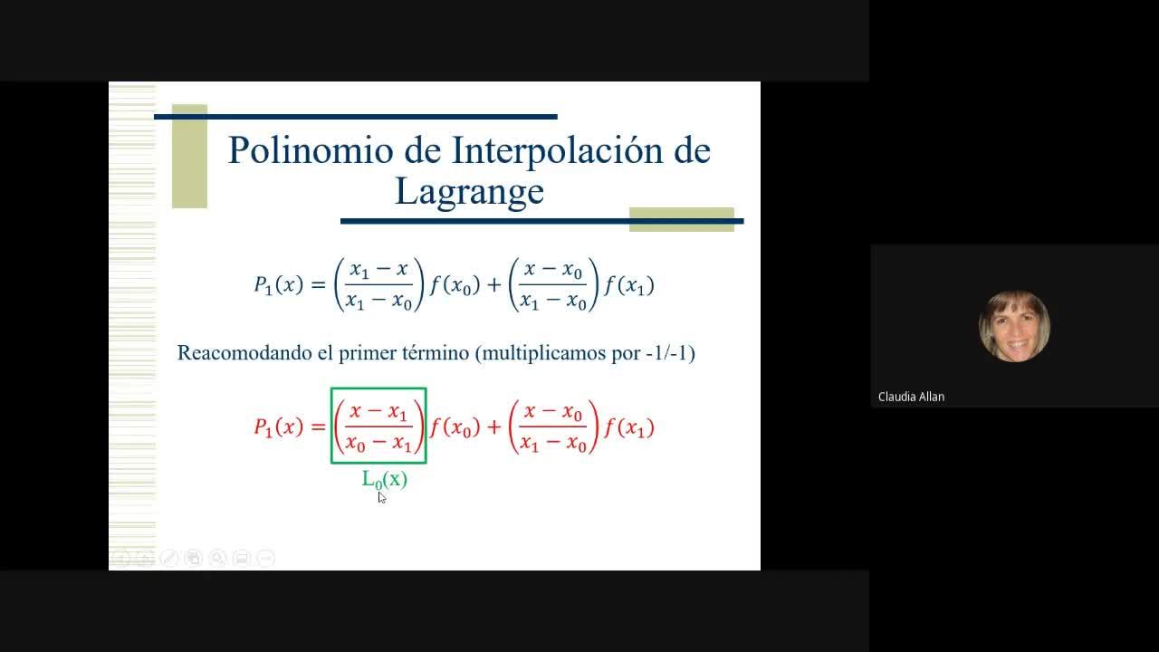 Clase Cálculo Numérico 2/11
