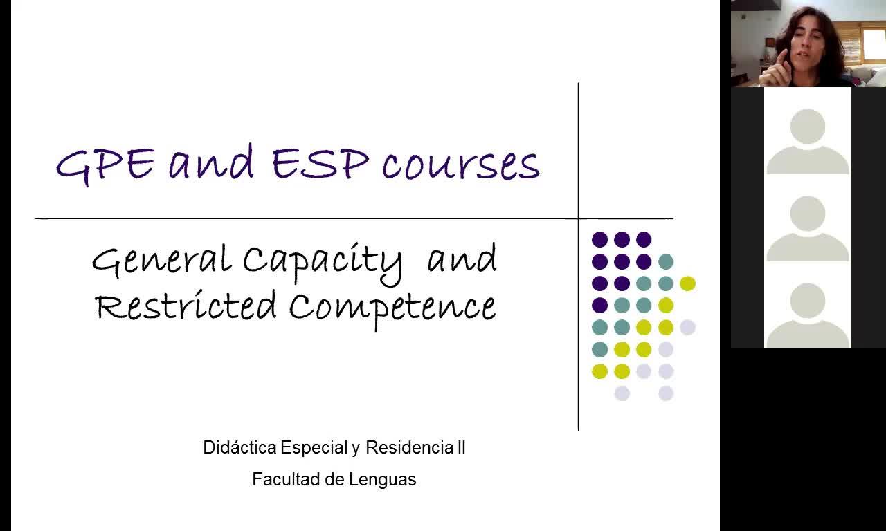 Did. Esp. y REs. 2 - GPE and ESP courses - 2nd November