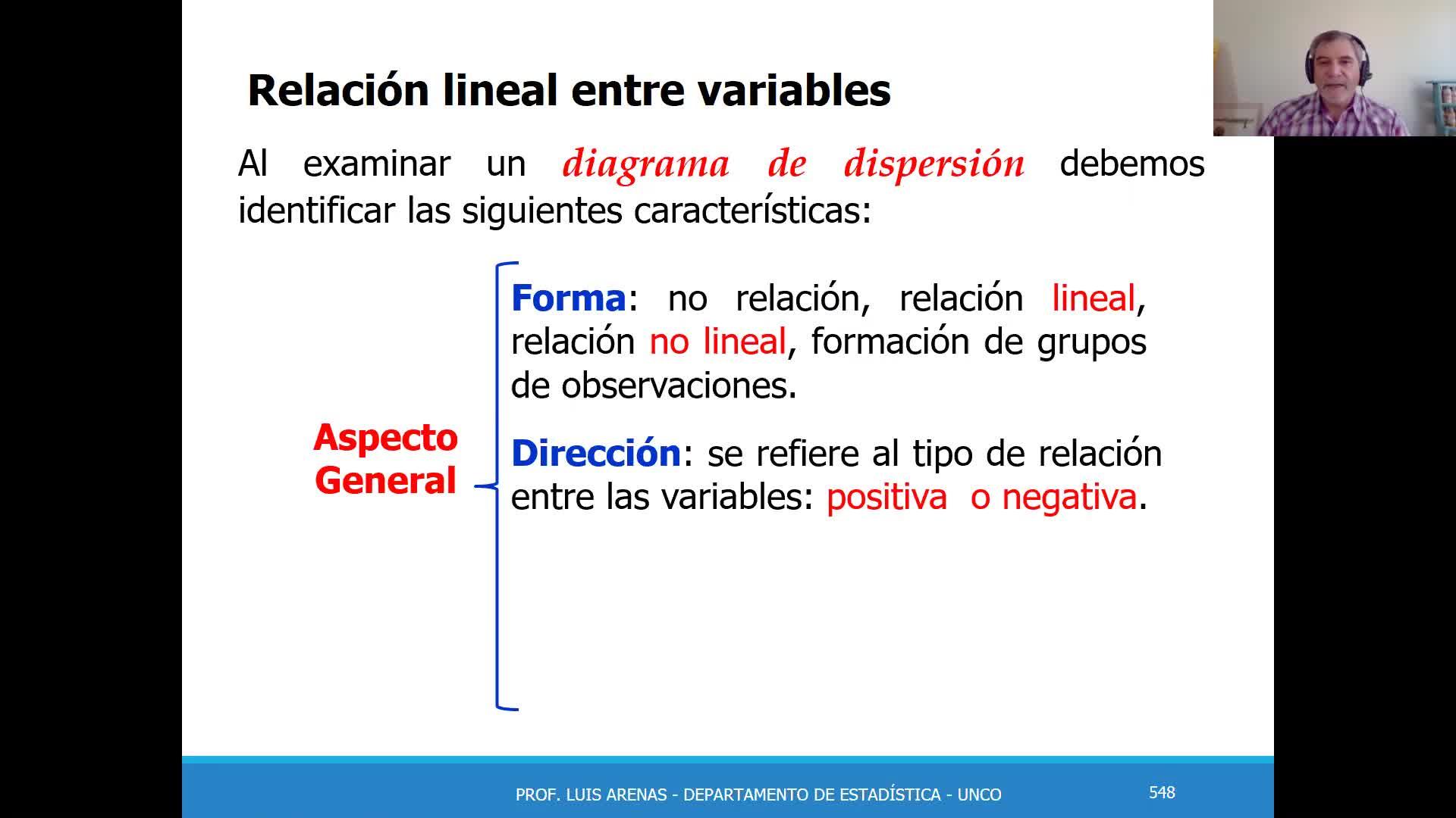 2020-11-05 Pt. 1 - Teoría Regresión y correlación (Primera parte)