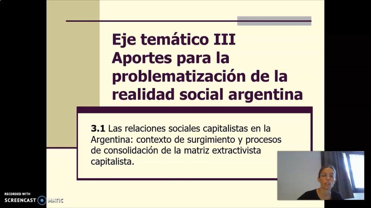 FADECS/Lic. Servicio Social/ Sociología del Desarrollo Mod. Nqn./Prof. Giaretto/Teórico N° 9