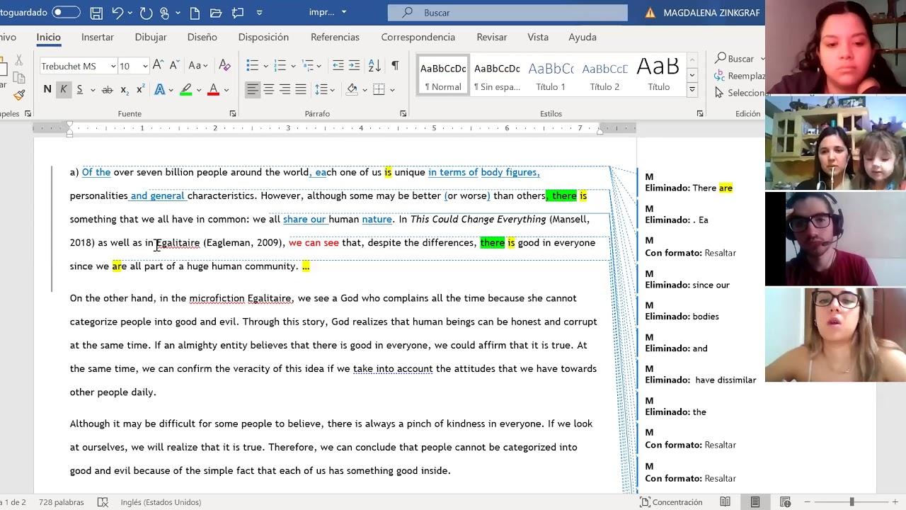 LI3 improving essays A
