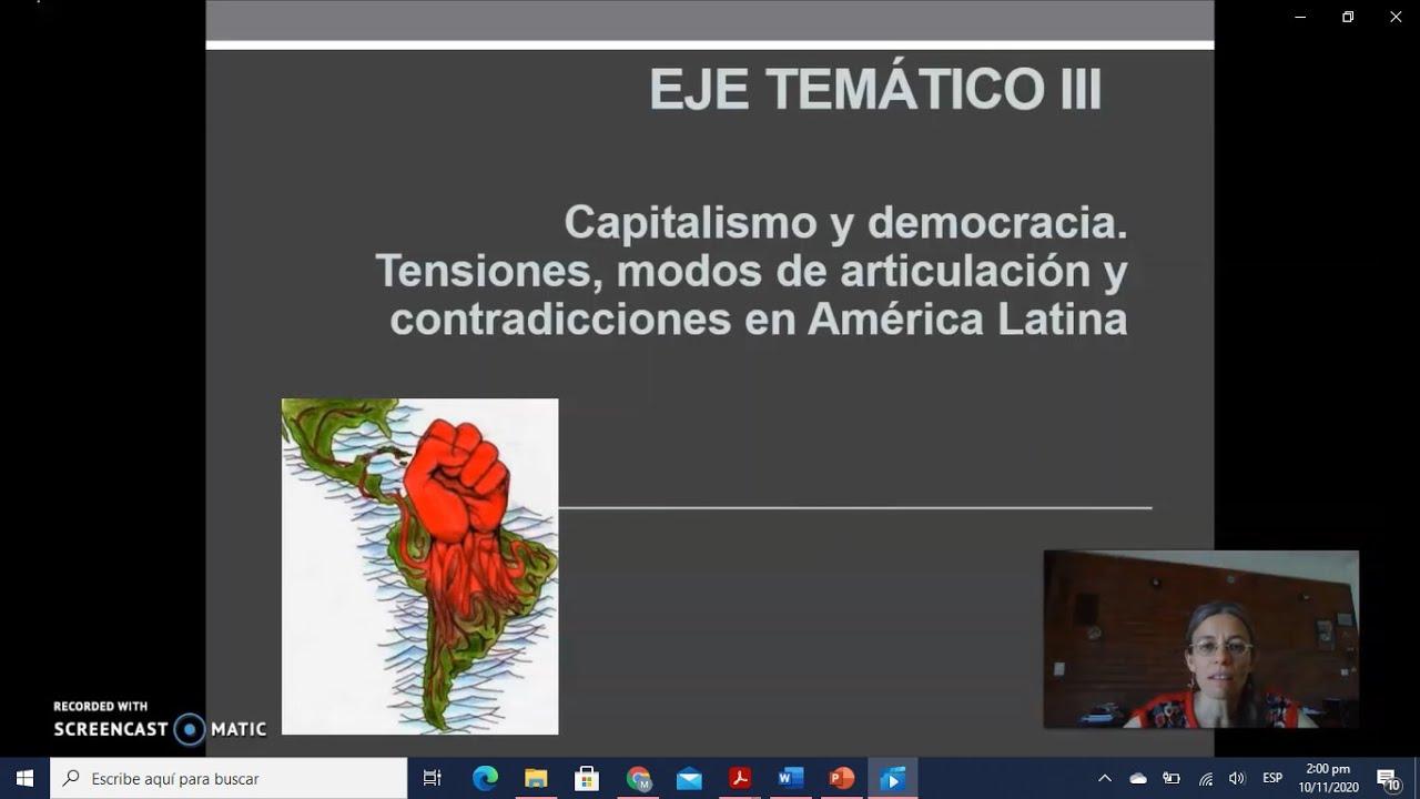 FADECS/Lic. Sociología/ Sociología Política I/ Prof. Giaretto -Teórico N° 10 Eje III-