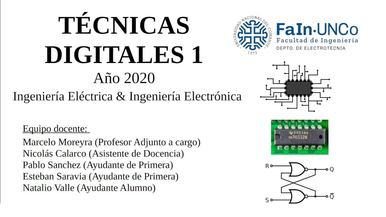TD1 2020: Sistemas Secuenciales (Flip flops JK y T)