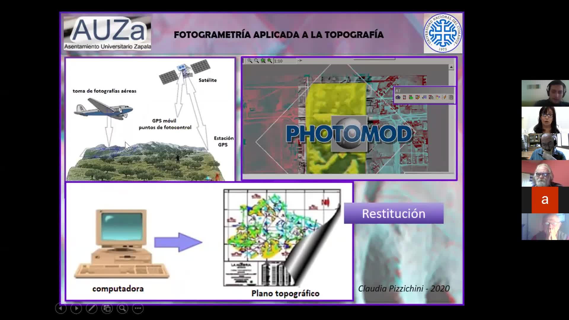 Fotogrametria aplicada a la topografia. Ariel Vargas Claudia Pizzichini