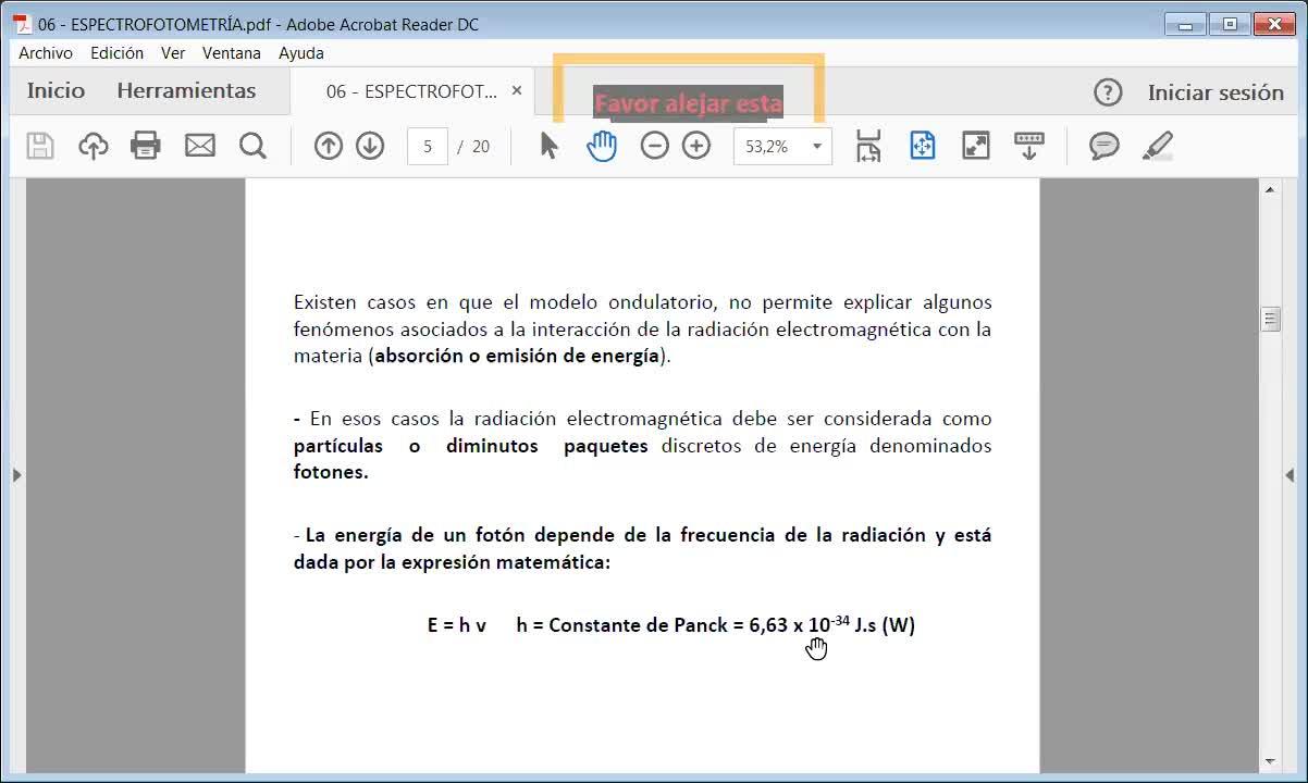 Ingeniería Agronómica- Química Analítica- Espectrofotometría- Video N°35