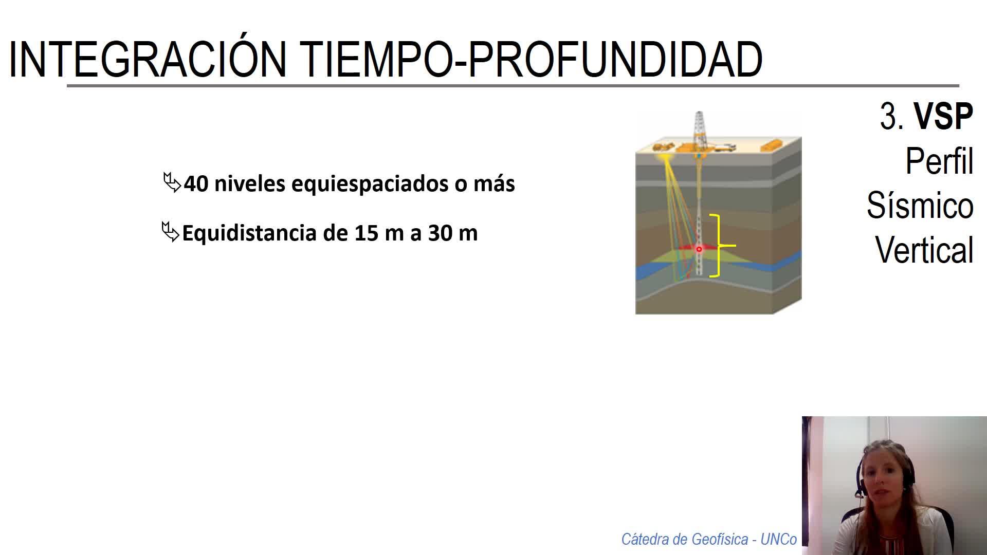 Geofísica - correlación sísmica / pozo_video3