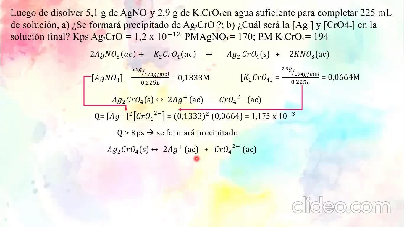 Ingeniería Agronómica- Química Analítica- Repaso 2do parcial- Video N°38