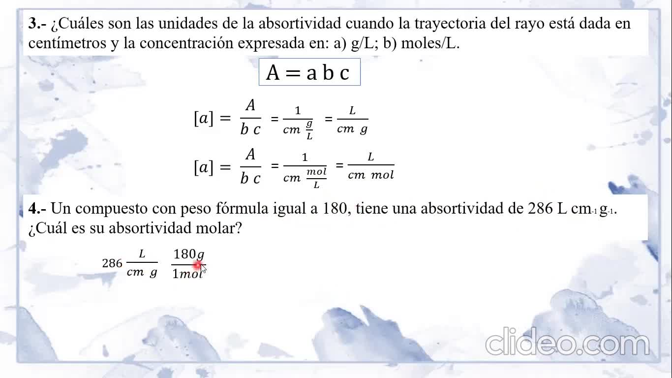Ingeniería Agronómica- Química Analítica- Resolución Guía 11- Video N°40