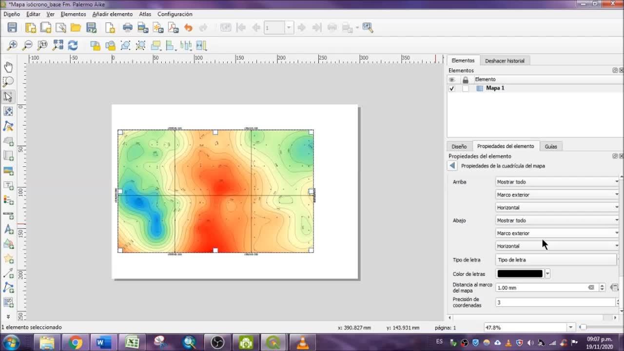 Geofísica - tutorial 6_mapa isocrono