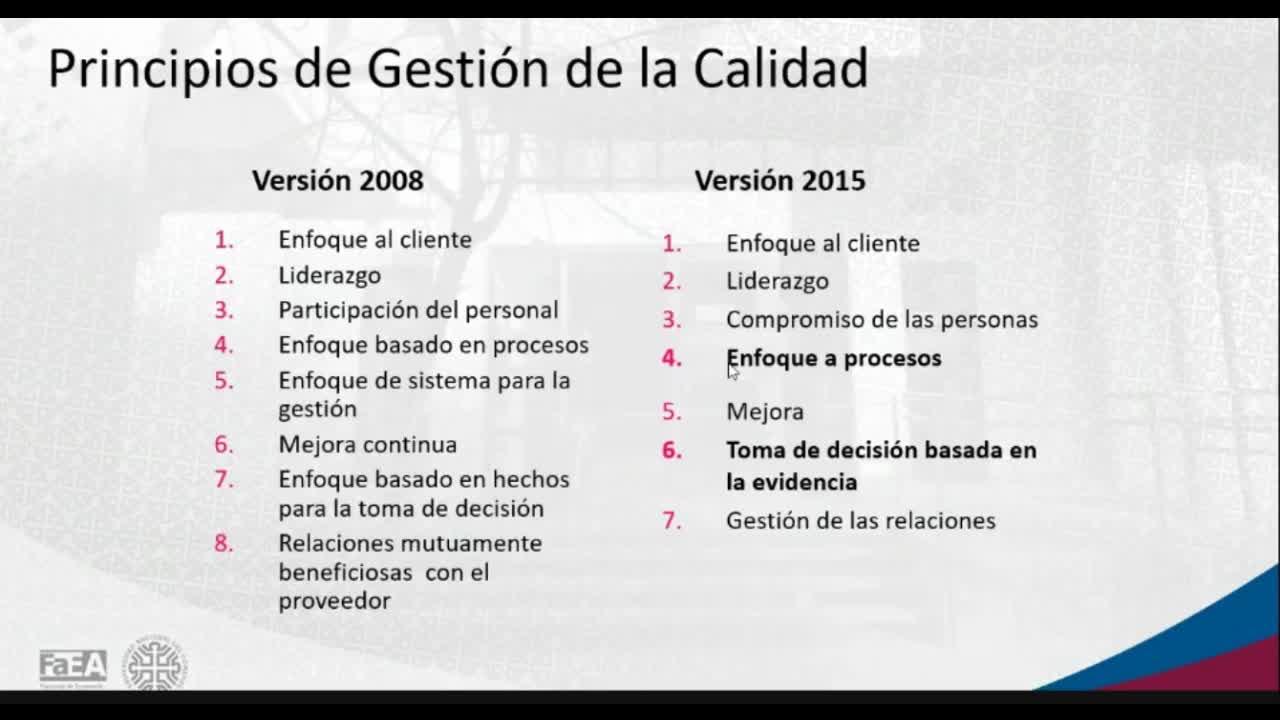 Diplomatura en Logística - Módulo 2 - Producción - ISO 9001:2015