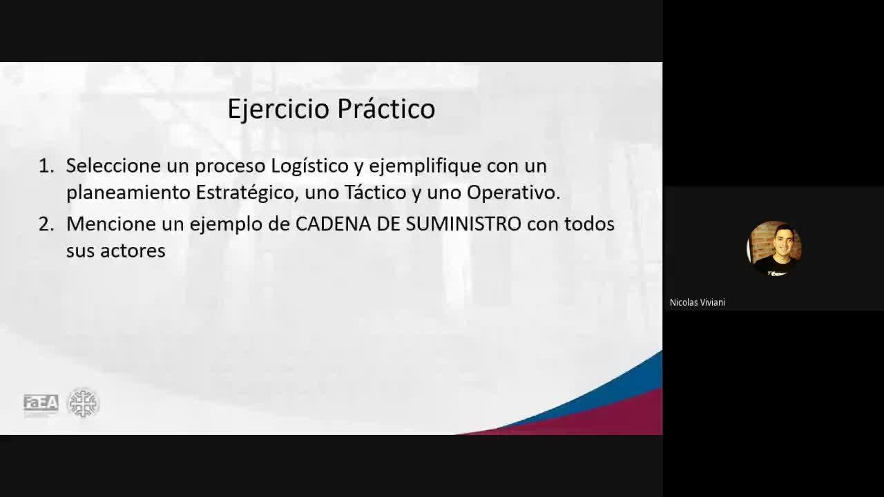 Diplomatura en Logística - Módulo 4 - Estrategia de la Cadena de Abastecimiento - Clase 2 - Parte 1