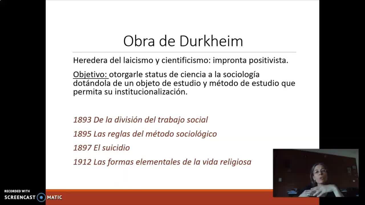 FACE/ Sociología para Psicología 2021/Prof. Giaretto -Teórico N° 2-