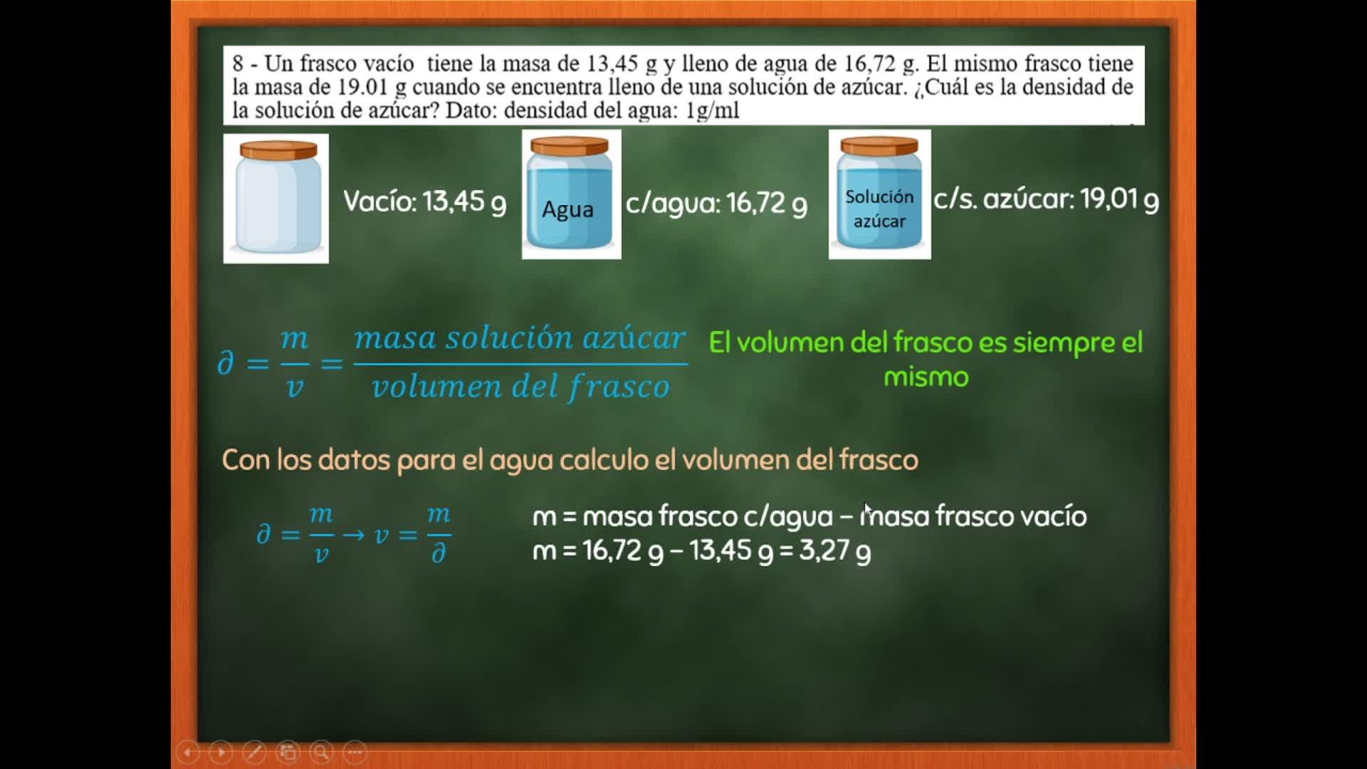 Química General - Guía N° 1 EJ 8