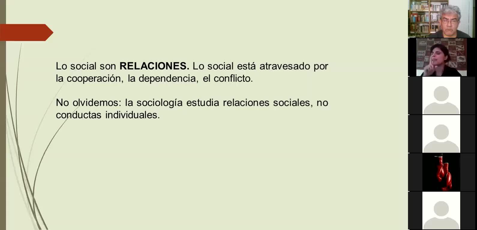 Sociología clase teórica 3 23 marzo