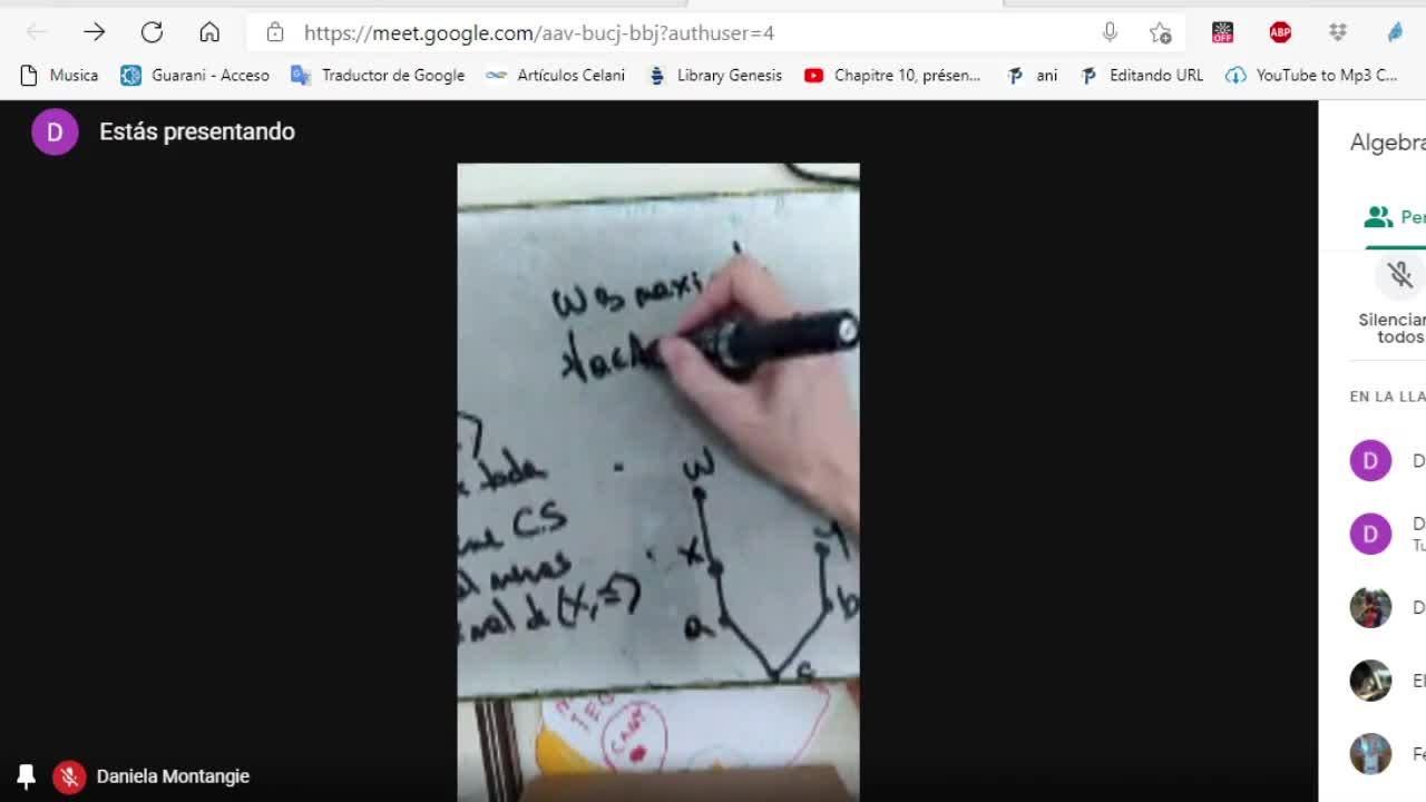 Licenciatura en matemática. Algebra lineal II. Clase 3. Espacios vectoriales (23-3-21)