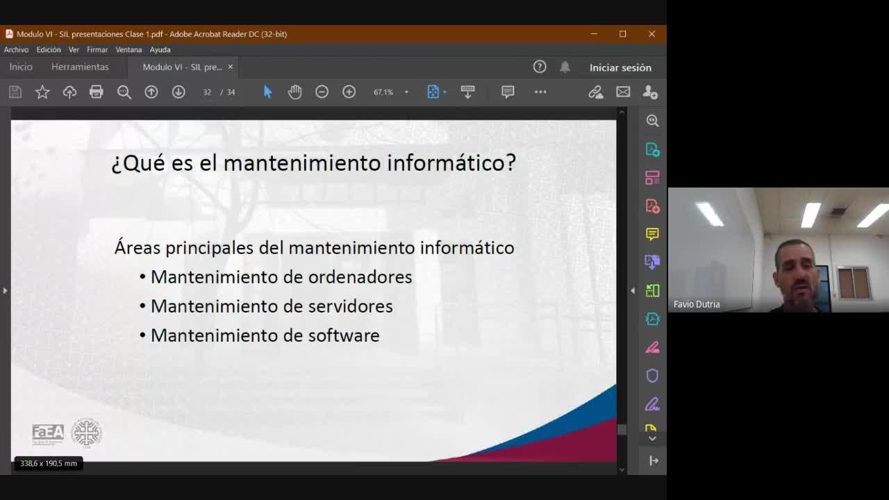 Diplomatura en Logística - Módulo 6 -   Sistemas de Información Logística (IT) - Clase 2 - 20-03-21