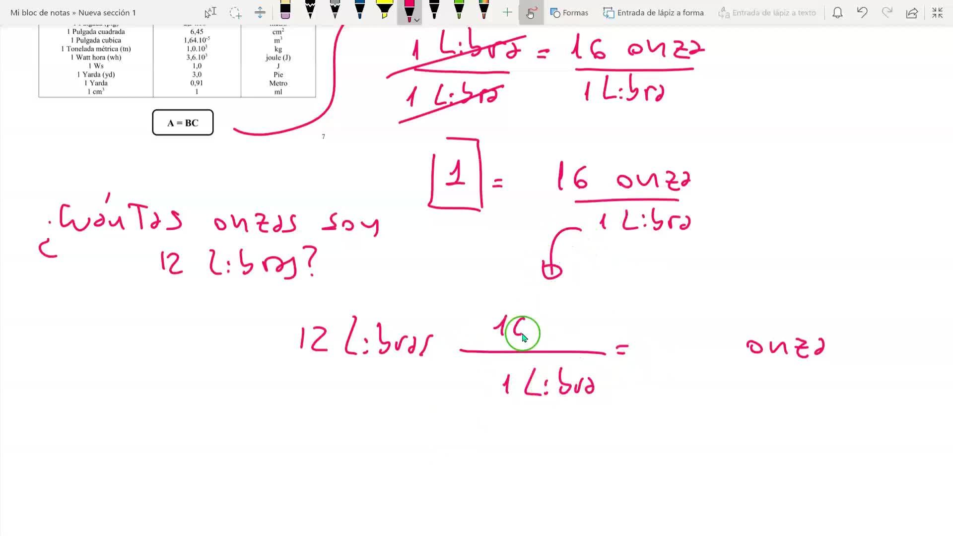 IQ _ factores de conversión