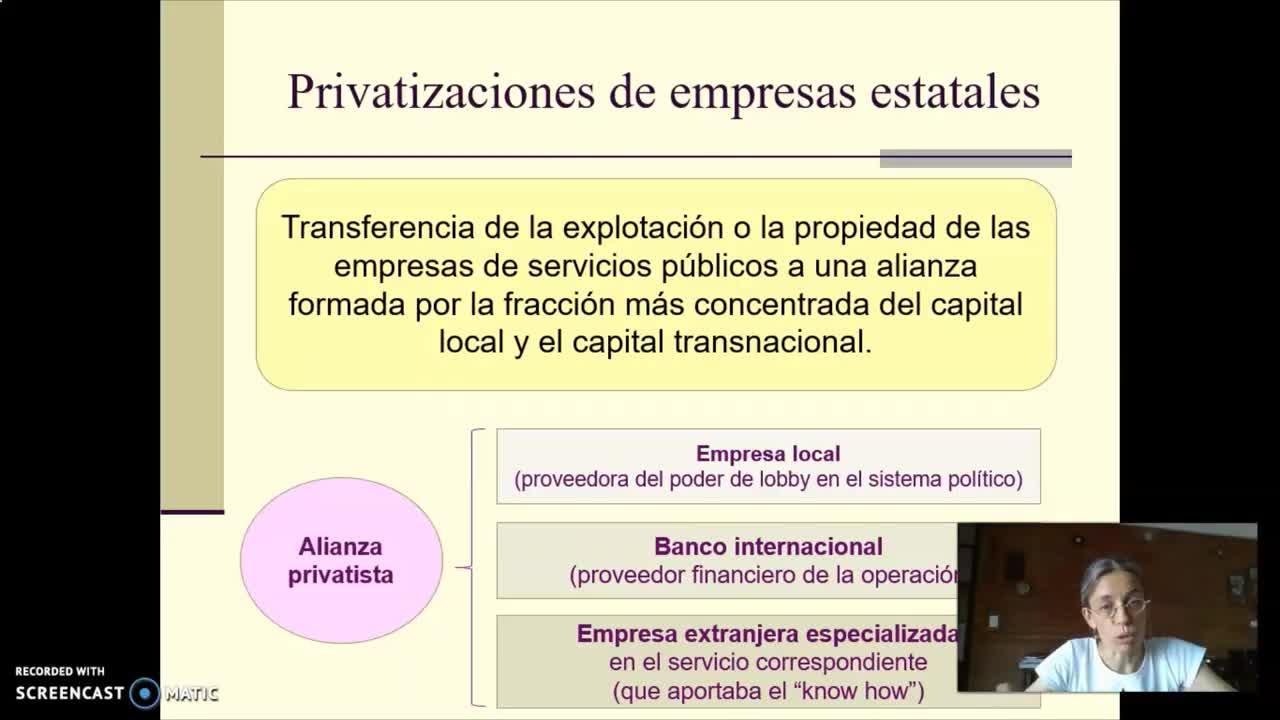 FADECS/Lic. Sociología/Análisis de la Sociedad Argentina/Prof. Giaretto/Teórico N° 3