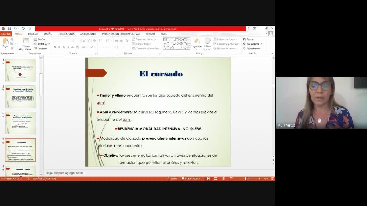 Clase Residencia 13/03 2021