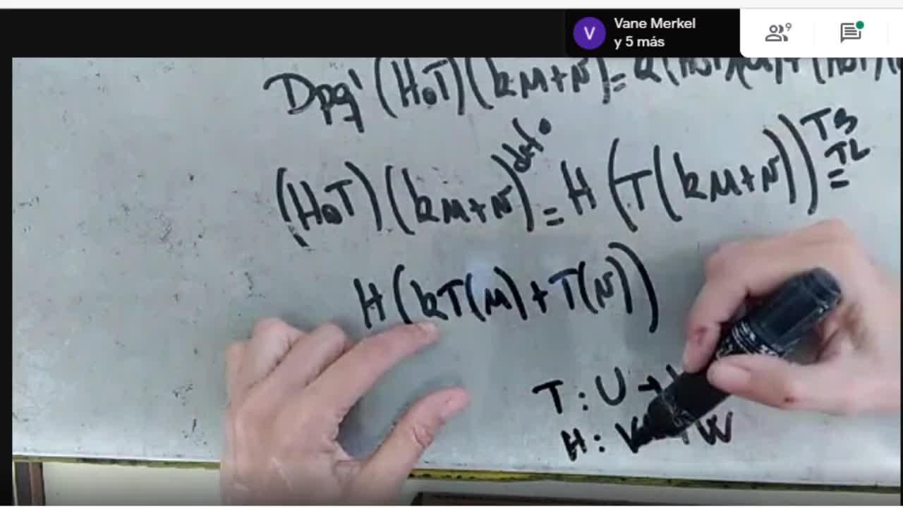 Licenciatura en Matemática. Álgebra Lineal II. Clase 5. Video 2 (30-3-21)