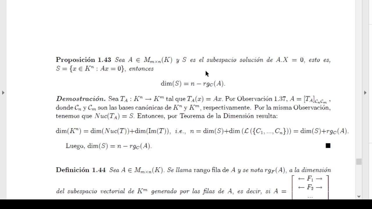 Licenciatura en Matemática. Algebra Lineal II. Clase 7 V2 (8-4-21)