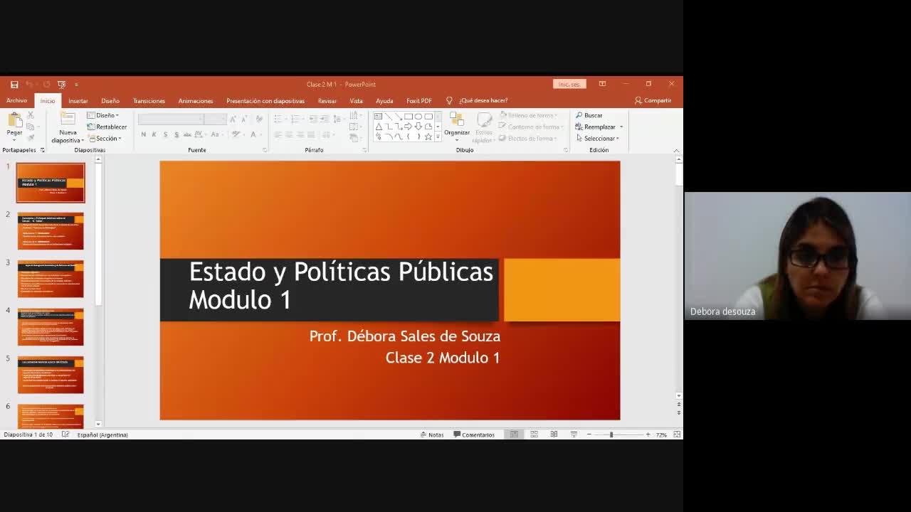 MODULO I - Estado y políticas públicas. Comisiones 3 y 4. CLASE 2