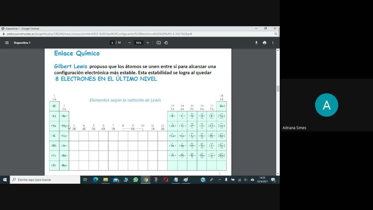 Teoría 2 Estructura Atómica 2 (12-04-2021)
