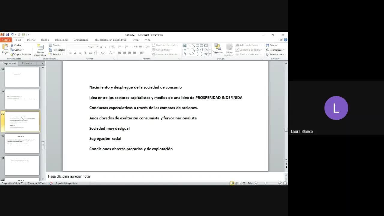 Clase teórica Coriat parte 3 Blanco