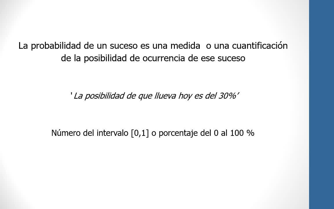 Probabilidad y Estadística-Unidad 2.1 - Experimento aleatorio e Introducción a las Probabilidades
