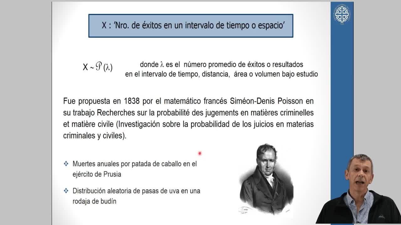 Probabilidad y Estadística - Teoría Unidad 3-3 - Poisson