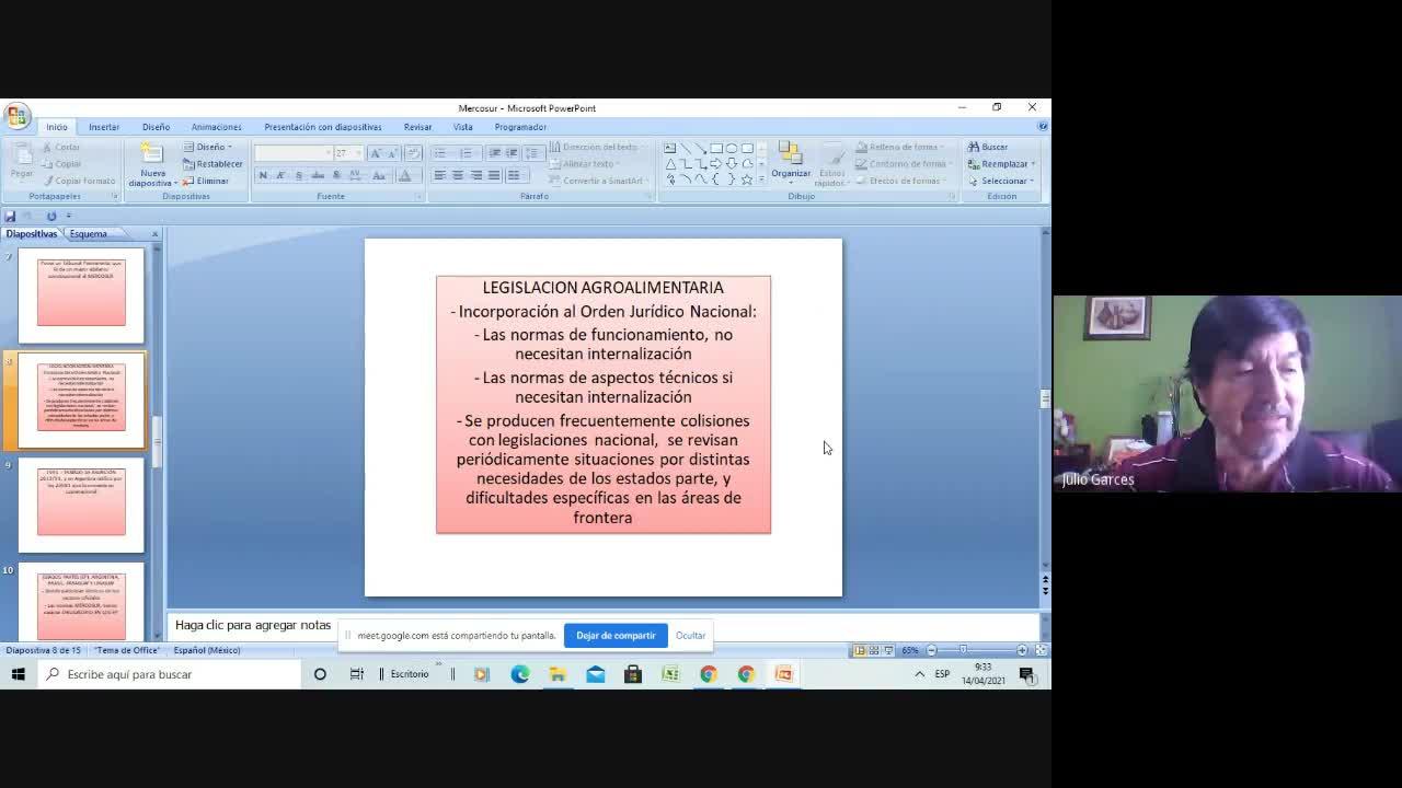 Clase 3 Legislación Ligga
