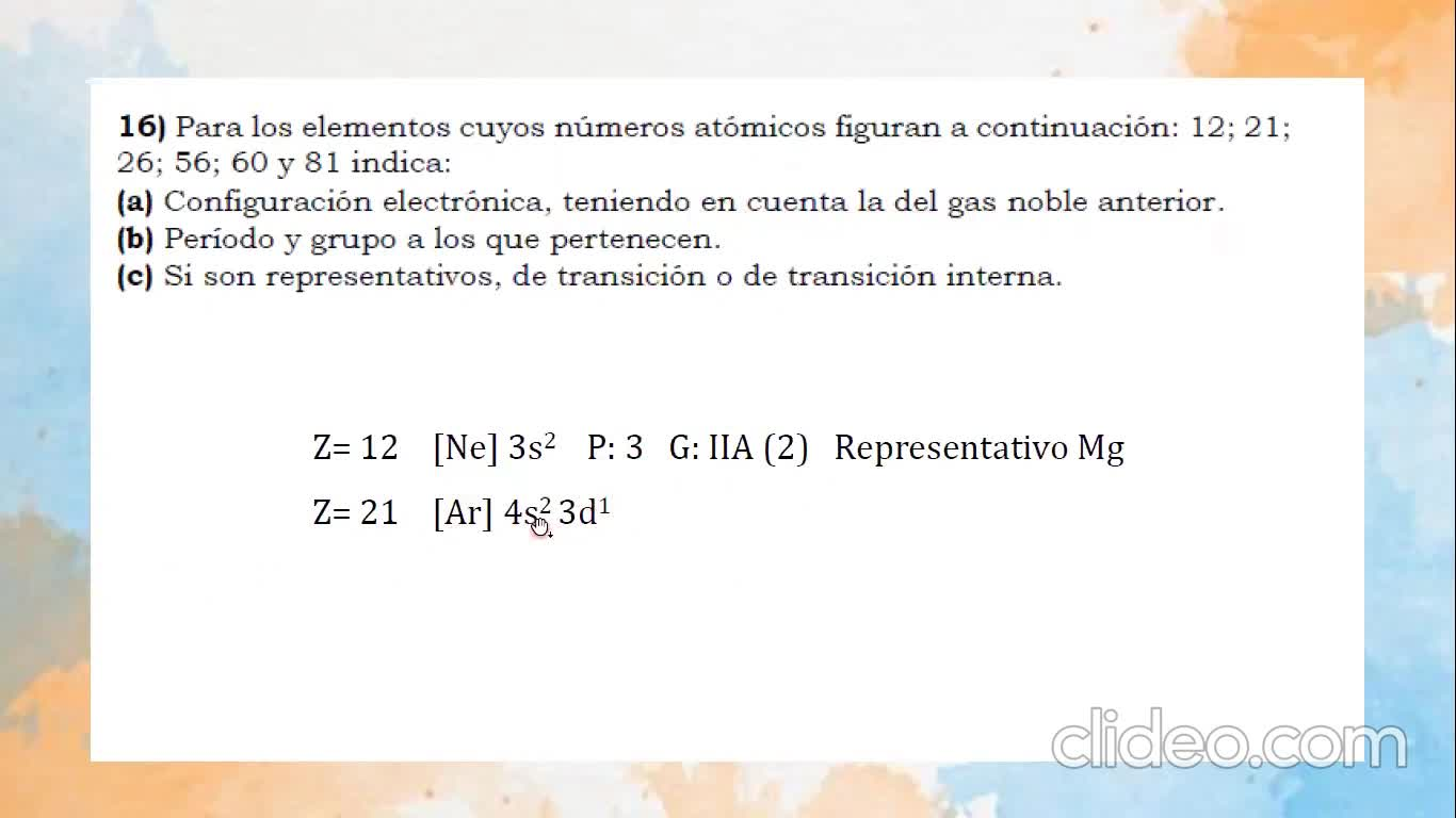 Ingeniería Agronómica- Química General e inorgánica- Clase practica 21-04 tabla periodica