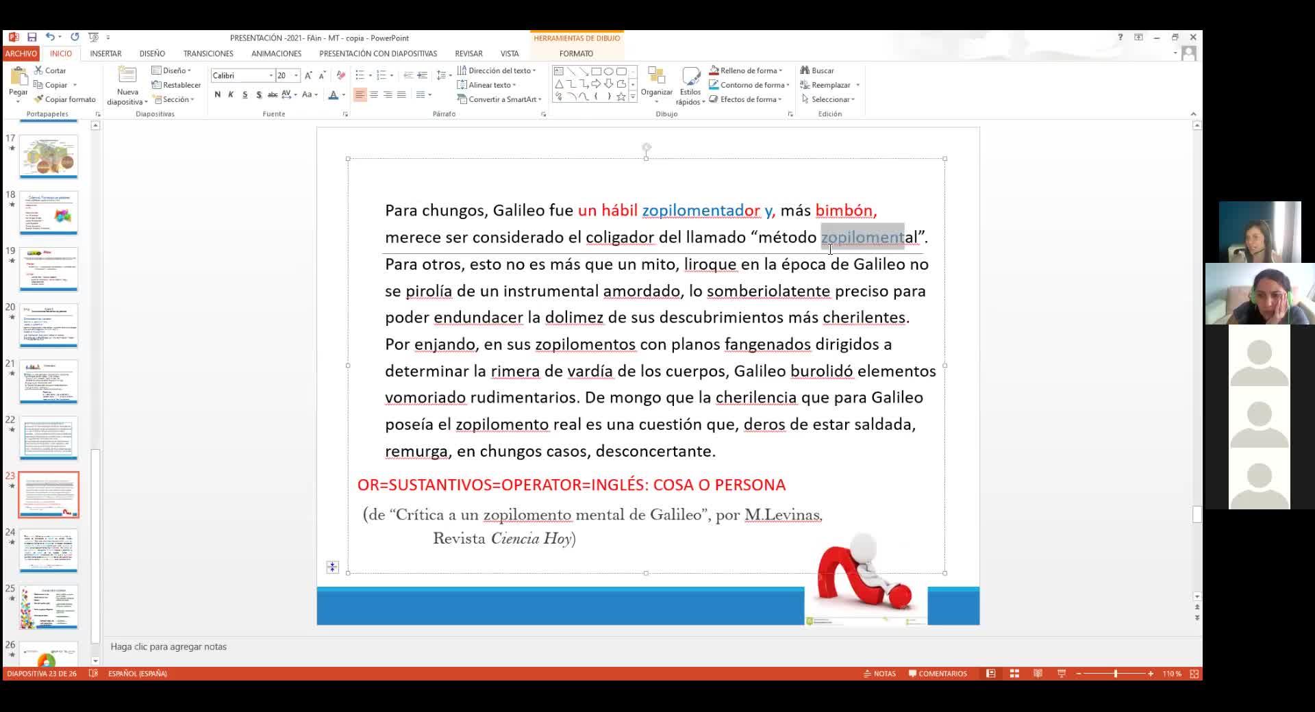 Inglés para Ingenierías y Profesorados de la Fac. de Ingeniería- Módulo Tarde - 21 de abril