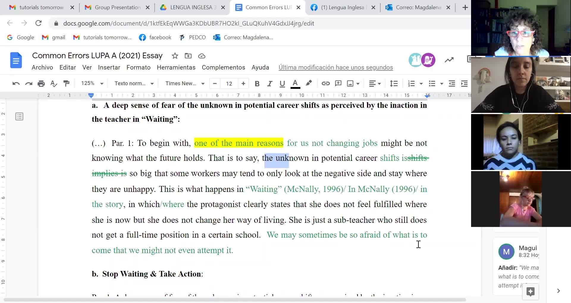 April 21st Comerrorr LA essay 1