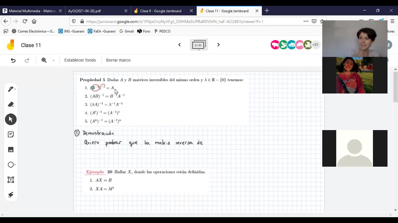 Ingeniería - AyGI(ModIIIyIV) - Muñoz Santis - Matrices