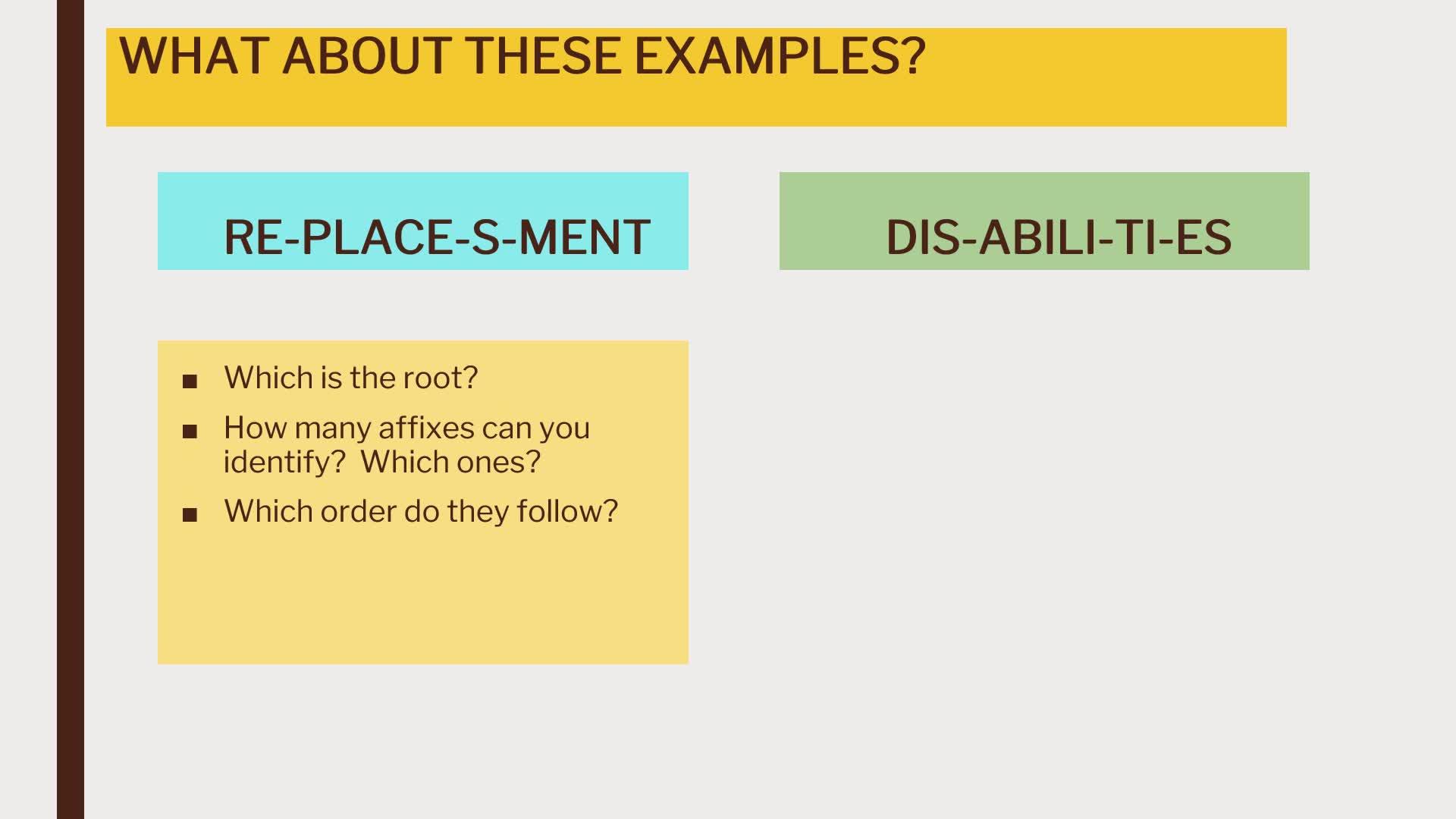 Theoretical Explanation - NOUNS