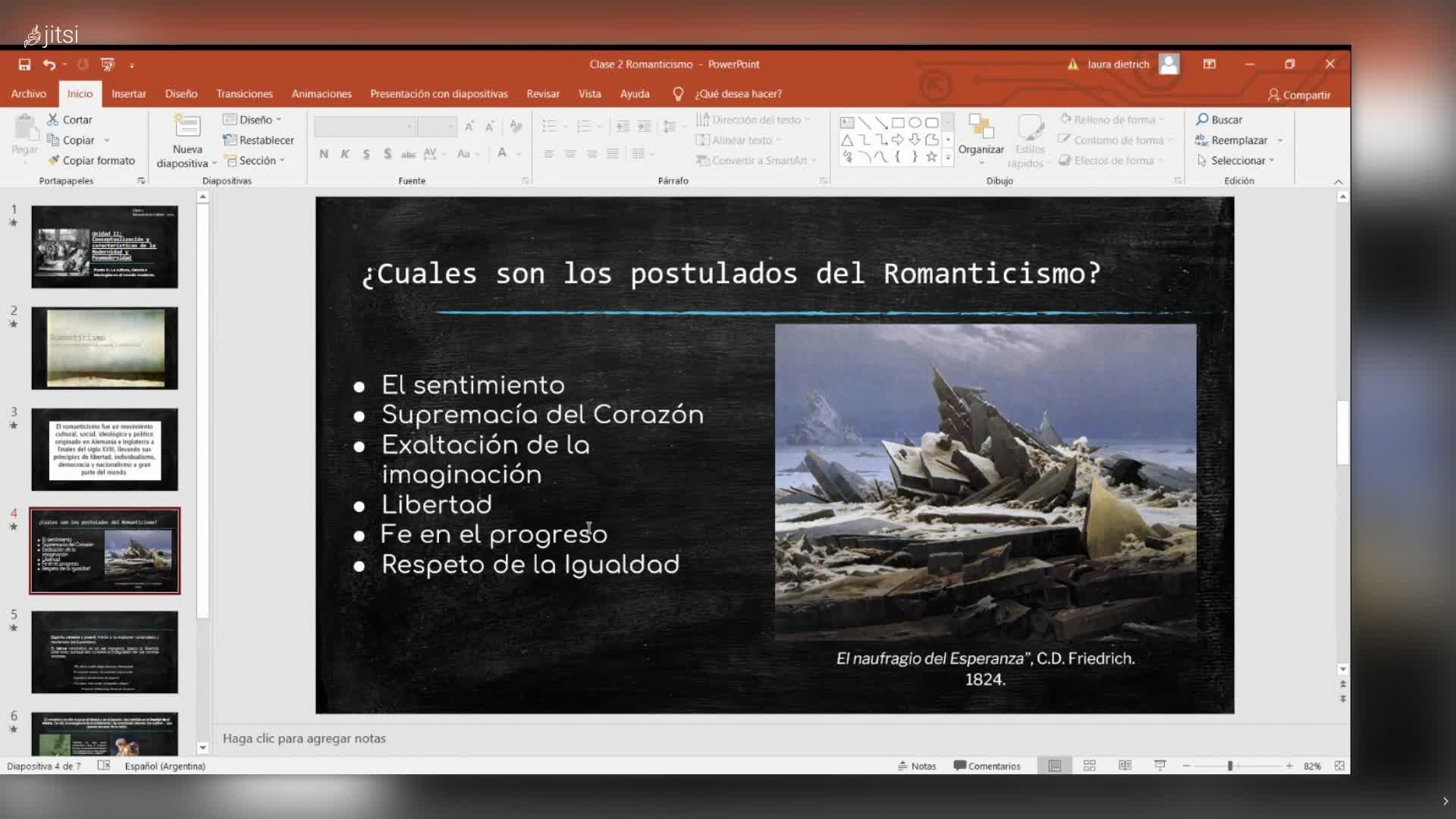Clase Teórica 2 Romanticismo Historia de la Cultura