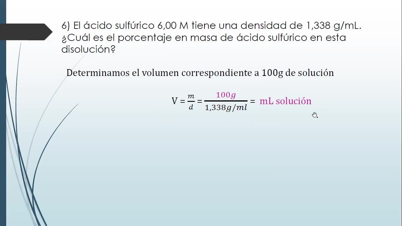 Ingeniería Agronómica- Química General e inorgánica- Soluciones clase práctica 05-05