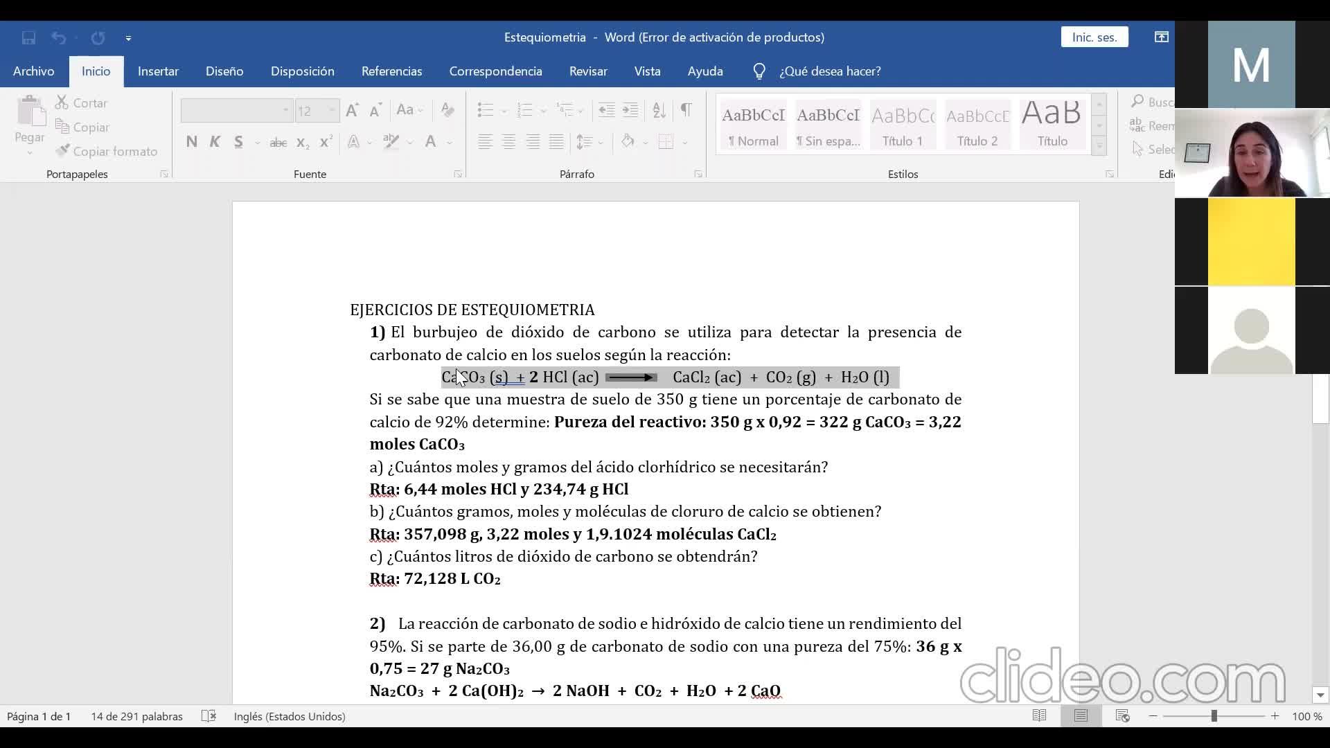 Ingeniería Agronómica- Química General e Inorgánica- Clase consultas TPevaluativos