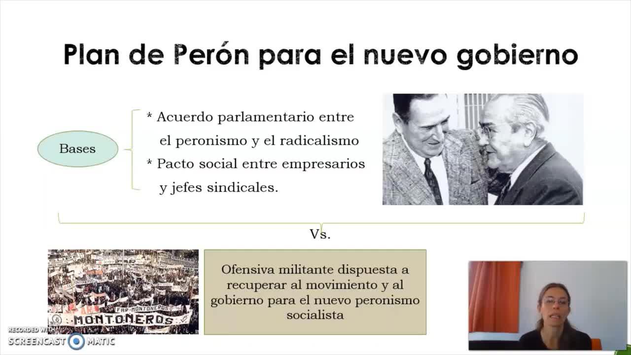 FADECS/Lic. Sociología/ Análisis de la Sociedad Argentina/Prof. Giaretto -Teórico N° 8-