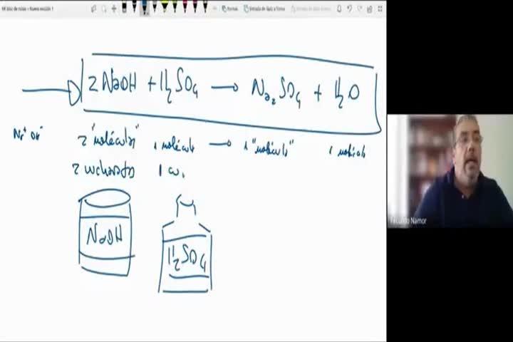 QcaAlim1 LIGGA Clase Teórica Estequiometría 17-5-2021 Parte1