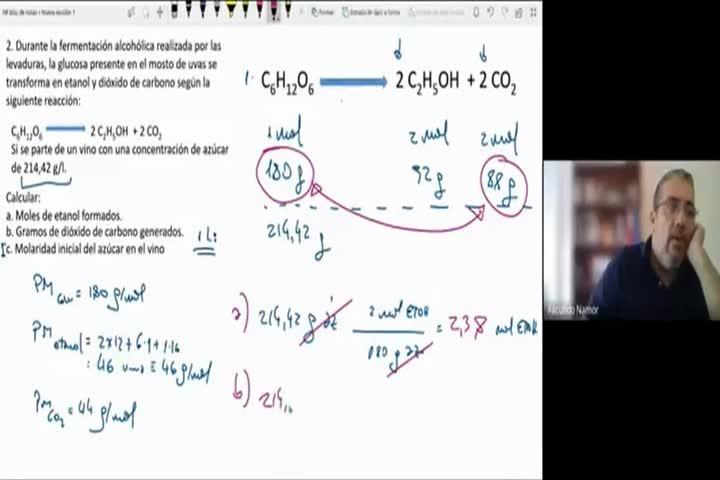 QcaAlim1 Clase Teórica Estequiometría 17-5-2021 Parte3